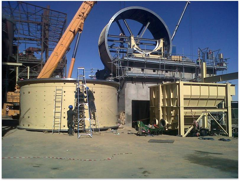 Sagl Mill 7.3dia x 6.1m 5800 KW