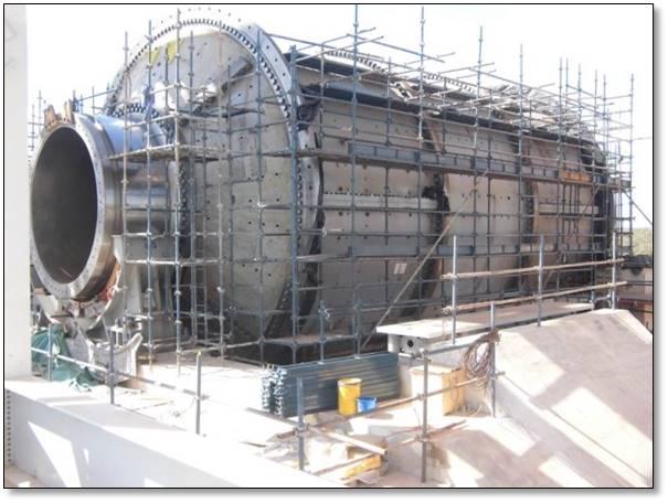 Ball Mill 8.5dia x 13.4m 22,000 KW