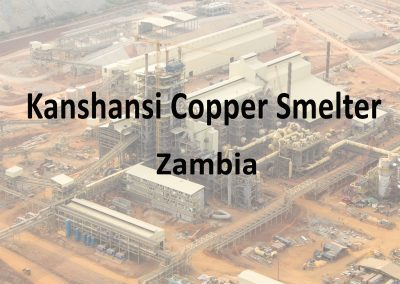 Kansanshi Copper Smelter Project Zambia